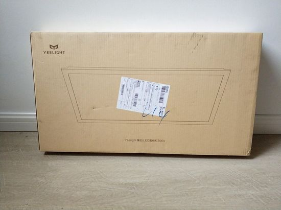 Картонная упаковка Xiaomi Yeelight LED Panel Zhen Light)