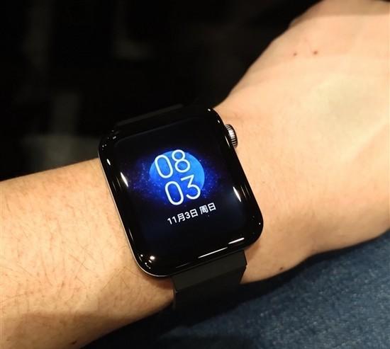 Дисплей смарт-часов Mi Watch
